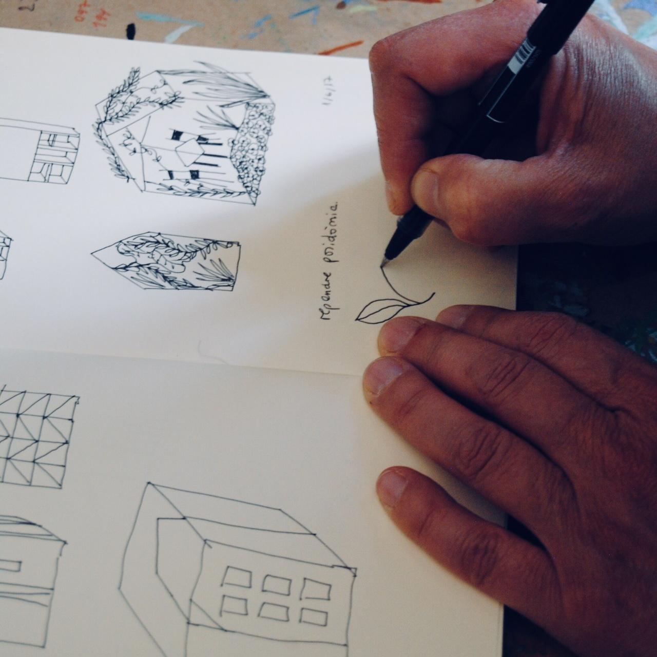 Montse dibuixant