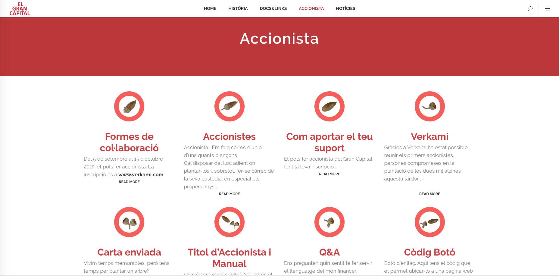 pantallas de la web elgrancapital.com