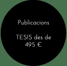 Publicacions i tesis